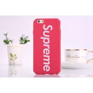 COQUE - BUMPER Coque iPhone 11,Supreme Rose Rouge Antichoc Premiu