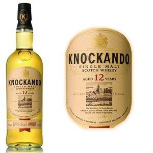 WHISKY BOURBON SCOTCH Whisky écossais avec étui 70cl Knockando