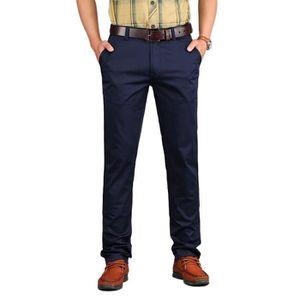 Taille 30-44 Pantalon de travail chino en coton pour homme