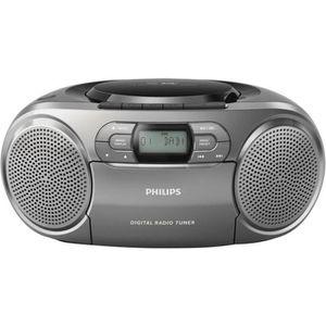 RADIO CD CASSETTE Philips - AZB600-12 - Radio-Radio-réveil Lecteur C
