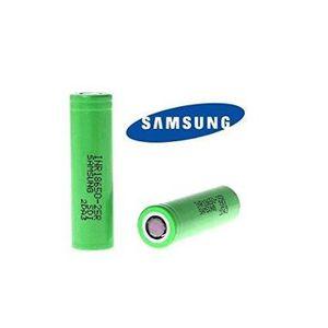 BATTERIE E-CIGARETTE Lot de 2 Accus Samsung INR 18650 25R