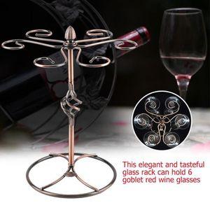 PORTE-VERRE Porte-verre à Vin Rouge Support de verre vin rouge