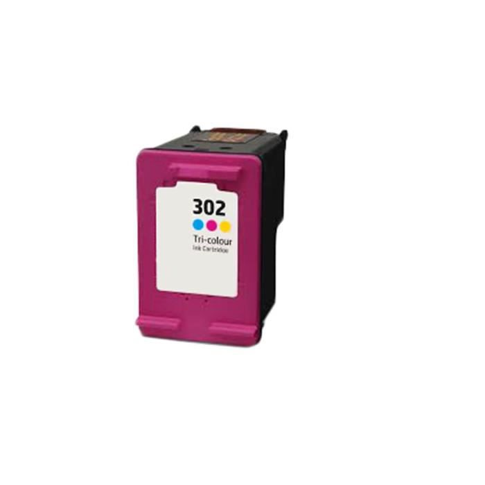 Tri-Couleur Compatible Encre Cartouche pour HP 302 XL Deskjet 1110 Officejet All-in-One 3830 4650 Envy All-in One 4520 4522 4523
