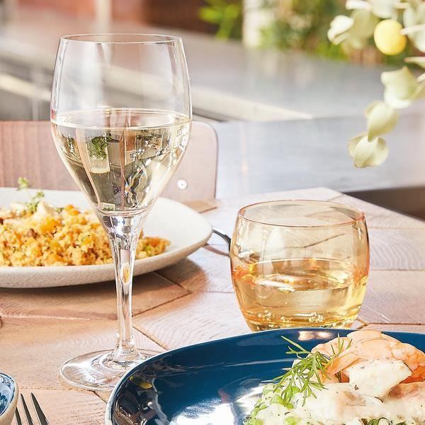 6 verres à vin 31cl Sensation Exalt - Chef&Sommelier - Cristallin design classique 30% plus résistant