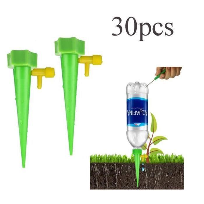 30pcs Irrigation Goutte à Goutte Kit, Réglable Irrigation de Plante Automatique Plantes Irrigation Système pour Jardin intérieur