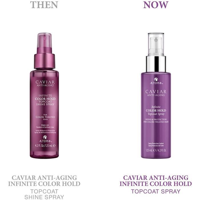 Soins et masques pour les cheveux Alterna Caviar Infinite Color Hold Top Coat Spray 965571