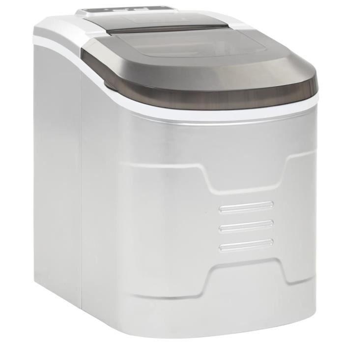 Machine à Glaçons Machine pour Glace Réservoir 2,4L,12-15 kg-24H , pour Maison,Bureau,Café -RAI