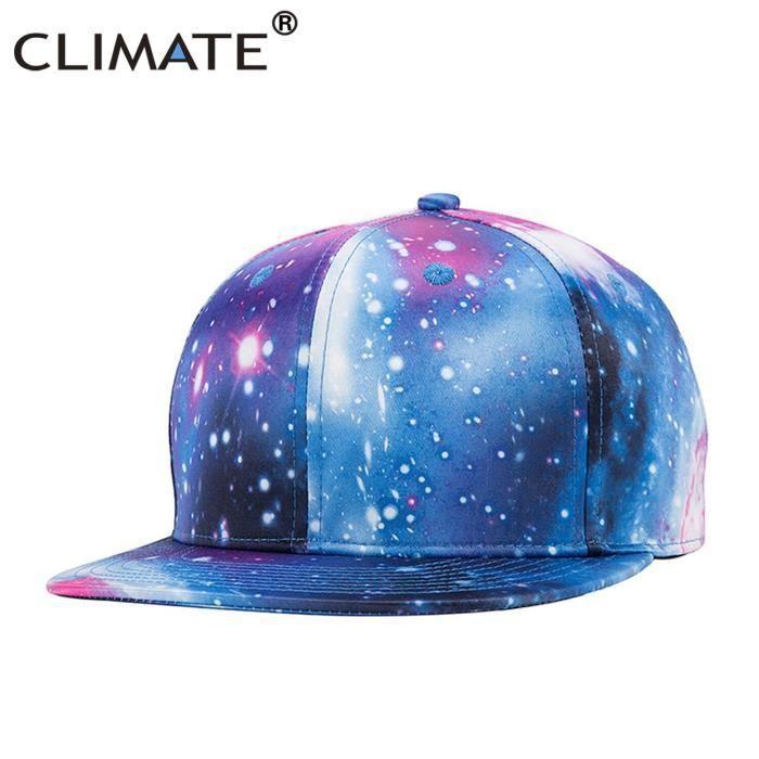 Casquette de rappeur, impression 3D, Hip Hop, casquette de rappeur, casquette de galaxie, espace ext Fits 55to59cm head