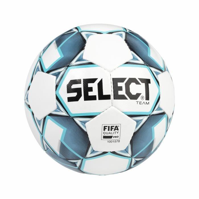 Ballon Select Team Fifa - blanc/bleu - Taille 5