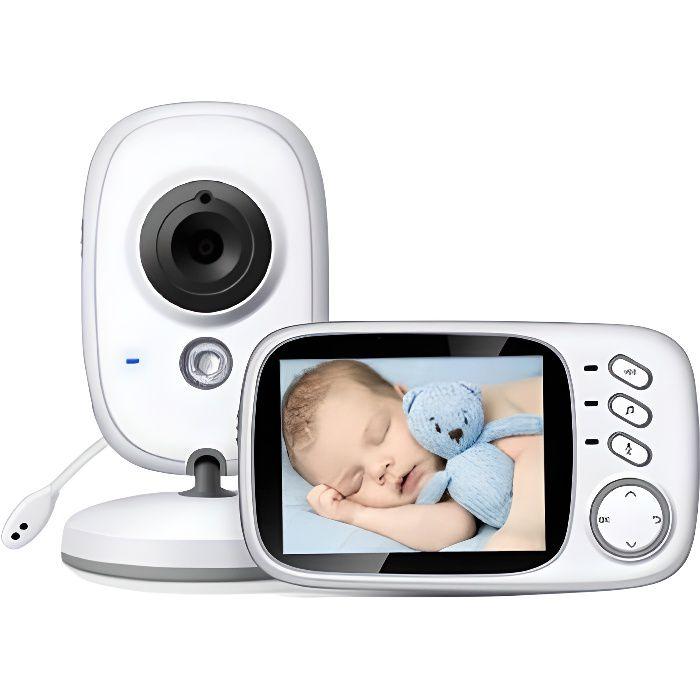 Babyphone vidéo numérique Venisymlis pour une communication bidirectionnelle à distance