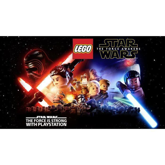 Lego Star Wars The Force Awakens (PS Vita) - Import Anglais