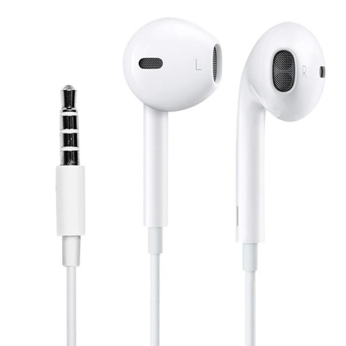 apple earpods ecouteurs original pour iphone ipad ipod 3 5. Black Bedroom Furniture Sets. Home Design Ideas