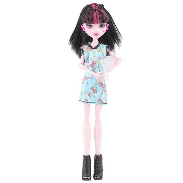 Refroidir Mode Main Princesse Vetements Robe Robe Pour Poupee Monster High Poupee 155 Achat Vente Poupee Cdiscount