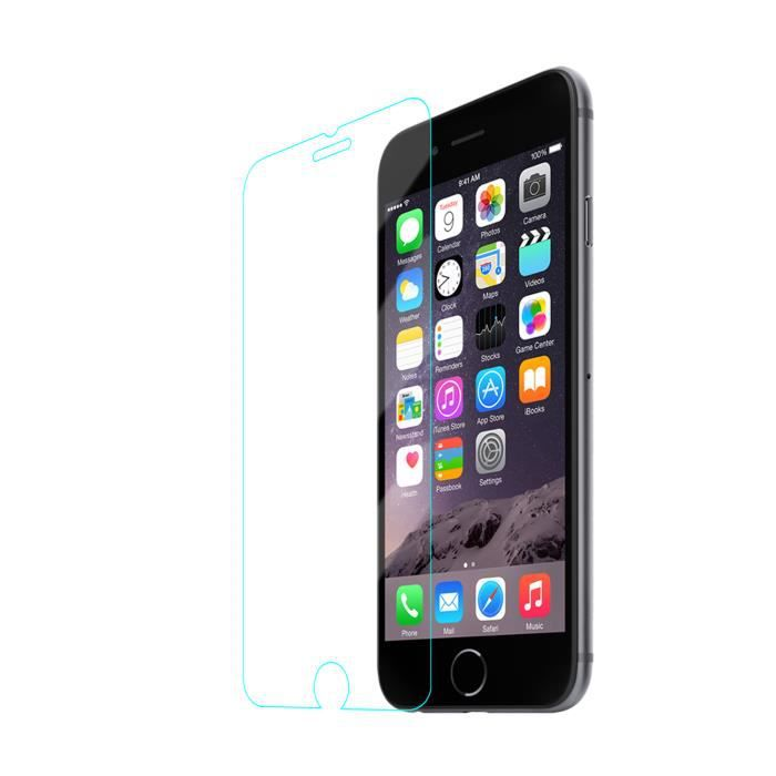 iphone 6 film protecteur vitre de protection en verre tremp avec filtre lumi re bleue achat. Black Bedroom Furniture Sets. Home Design Ideas