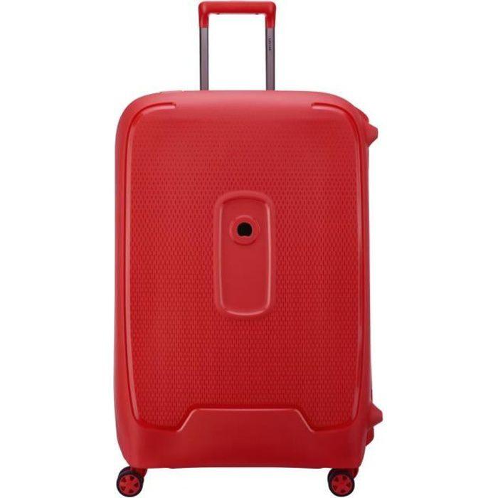 VALISE - BAGAGE Delsey - Valise rigide 76cm Moncey (3844821) rouge