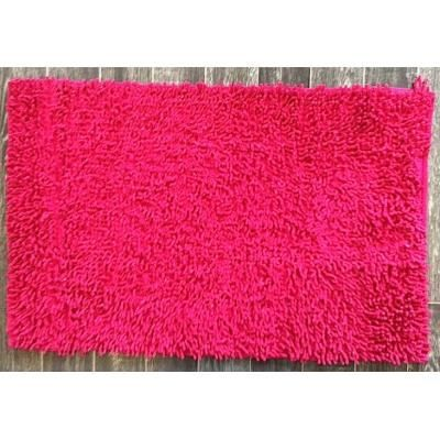 tapis salle de bain m che fushia achat vente tapis. Black Bedroom Furniture Sets. Home Design Ideas