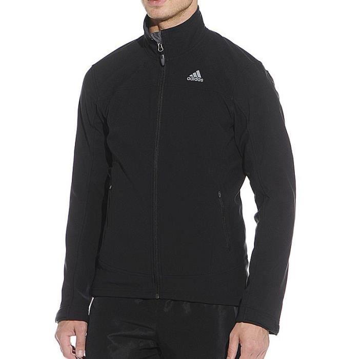 Veste softshell Sosh Outdoor Homme Noir Adidas ADIDAS
