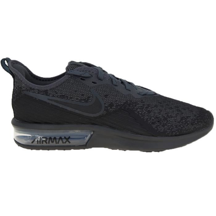 super cheap detailed images sale retailer Baskets Nike Nike Air Max Sequent 4 AO4485-002 Noir - Achat ...
