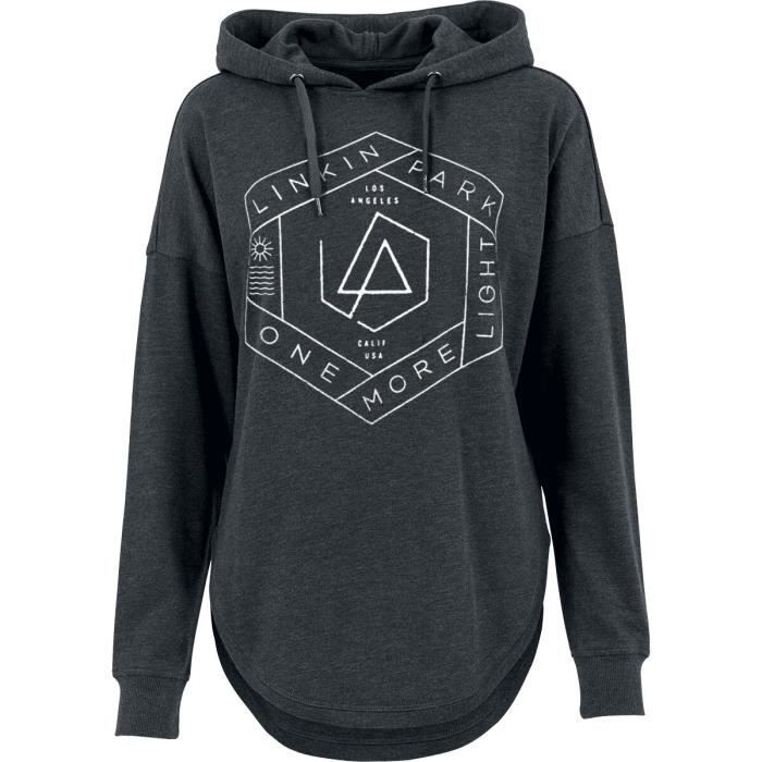 Linkin Park Archer Sweat-Shirt /à Capuche Noir