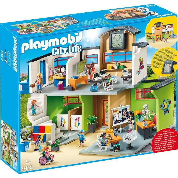 Photo de playmobil-9453-city-life-ecole-amenagee