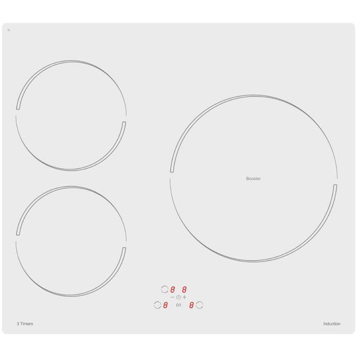Comparatif Table De Cuisson Induction Et Vitroceramique sogelux table de cuisson induction pvi364b blanche - achat