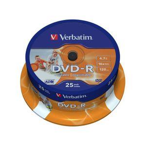 CD - DVD VIERGE Verbatim DVD-R 16x