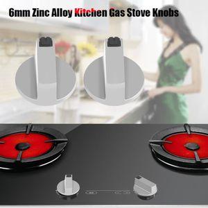 CUISINIÈRE - PIANO 2pcs 6mm en alliage de zinc maison cuisine boutons