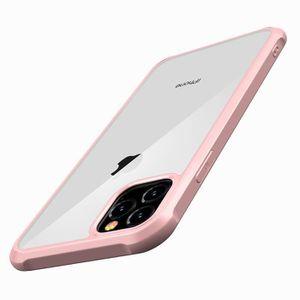Coque iPhone 11 Pro Case Cover Souple Silicone Bumper Ultra Mince Durable TPU CoquilleNoir