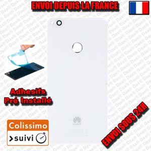 ECRAN DE TÉLÉPHONE VITRE ARRIERE DE REMPLACEMENT BLANC HUAWEI P8 LITE