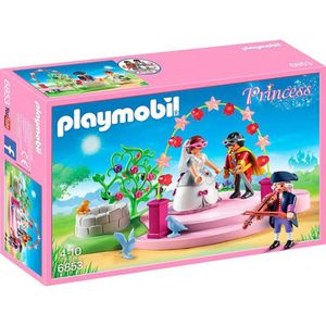 FIGURINE - PERSONNAGE PLAYMOBIL 6853 - Princess - Couple Princier Masqué