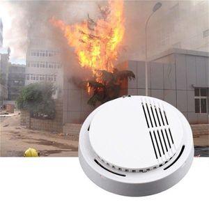 DÉTECTEUR DE FUMÉE Détecteur de fumée Alarme incendie Blanc