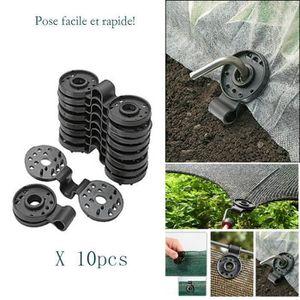 PARASOL 10pcs À Effet de Serre de Jardinage Ombre Net Accr
