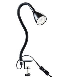 Lampe de lecture /à LED,Lampe Chevet Murale,Liseuse LED Flexible R/églable Col de Cygne Lumi/ère avec cordon prise /électrique et interrupteur,Blanc chaud,240lm//3000k//3W,angle de faisceau:30/°Longueur:41cm