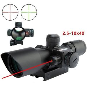 TÉLESCOPE OPTIQUE Letouch Riflescope 2.5-10 x 40 viseur point rouge