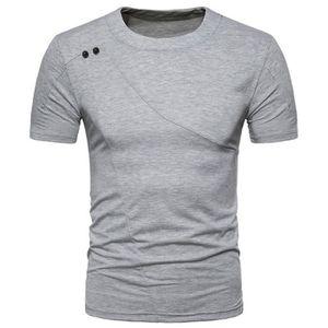T-SHIRT Tee Shirt Homme Sport Casual T-Shirt Manches Court