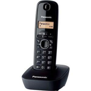 Téléphone fixe Panasonic KX-TG1611FRH Solo Téléphone Sans Fil San