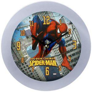 HORLOGE - PENDULE Horloge Pendule Murale Disney Marvel Spiderman Bui