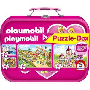 CASSE-TÊTE Schmidt 56498 - Playmobil - Pink - Coffret De Puzz