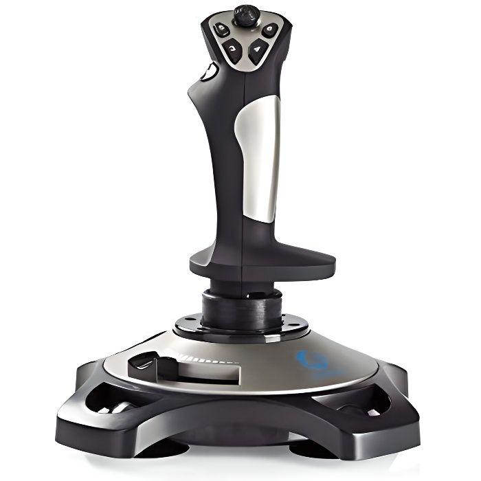 Nedis Joystick pour Jeux Vibrac ION de Force Alimentac