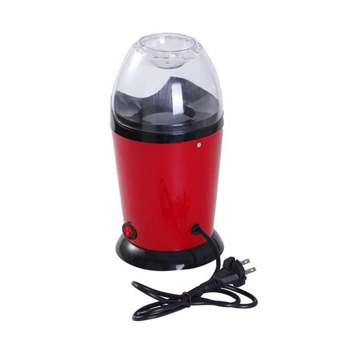 Machine automatique à pop-corn à air chaud sain pour machine à pop-corn avec machine à mesurer facile à utiliser 1200W 110V, prise-3