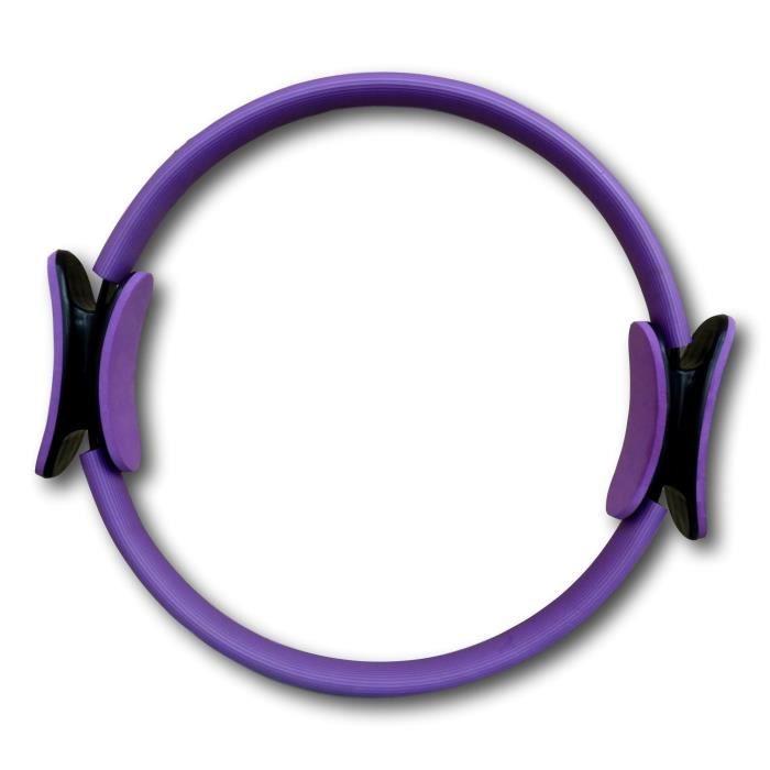 Anneau de pilates 38cm Violet