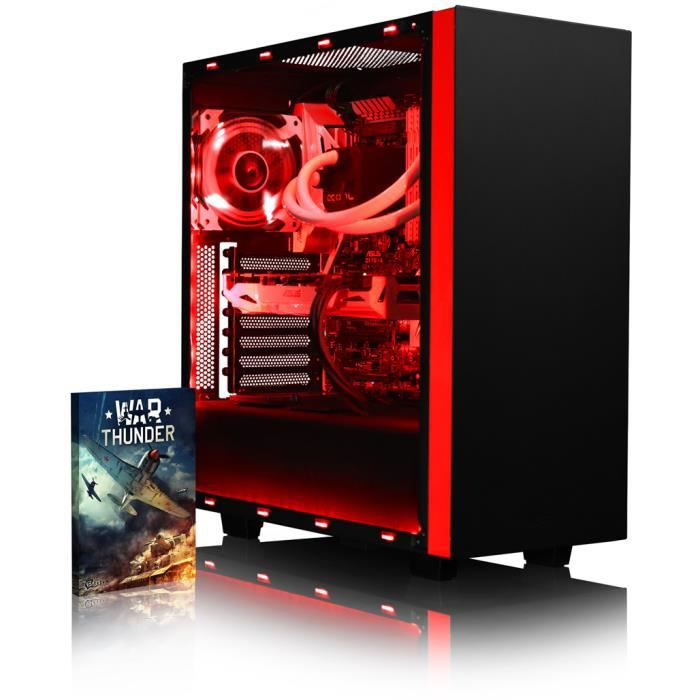 Vibox Voxel Gmr760 155 Pc Gamer Amd Ryzen 8 Core, Geforce Gtx 1060 Gaming Ordinateur de Bureau avec 32 Go Ram, 1 To Hdd, Pas de