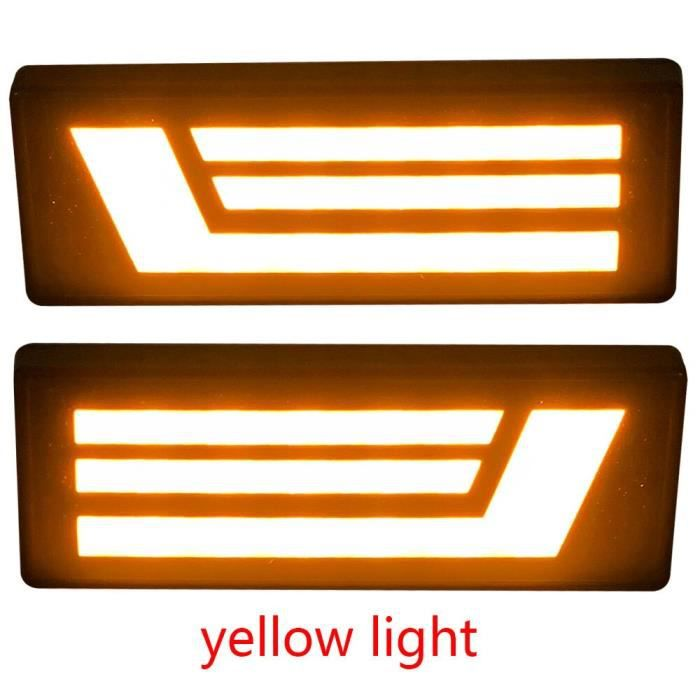 AMBER LIGHT 10 -2 feux de position latéraux ambre, lampe indicateur répéteur pour Lada Niva 4x4, nouvelle marque latérale 1995