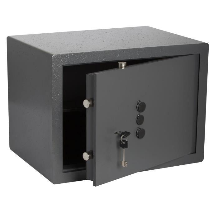 BRICARD Coffre-fort à clé + Boutons 49 x 36 x 35 cm à poser - 43,5 kg - 49, 6 L