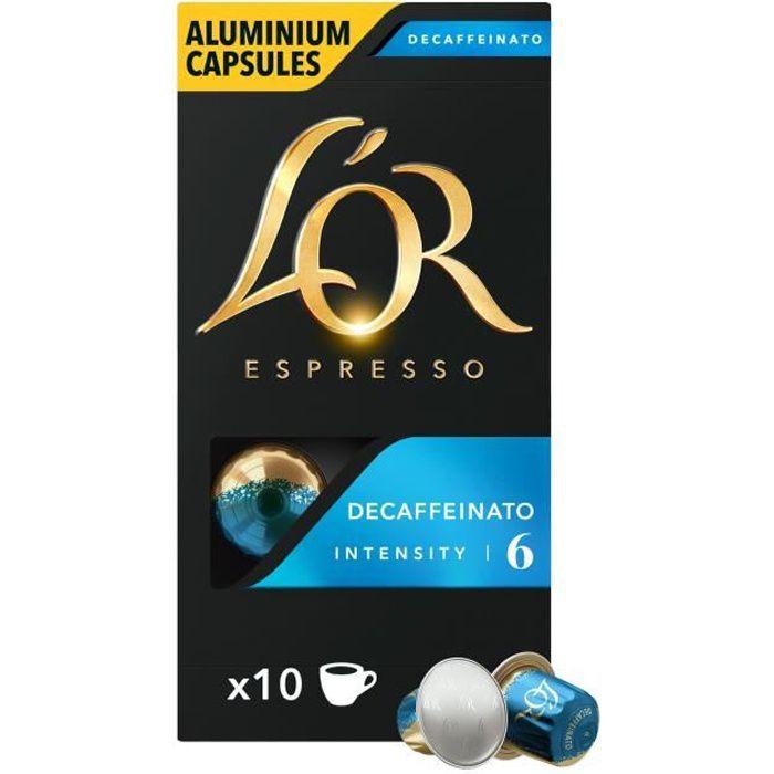 Capsules de café décaféiné x 10 L'Or Espresso