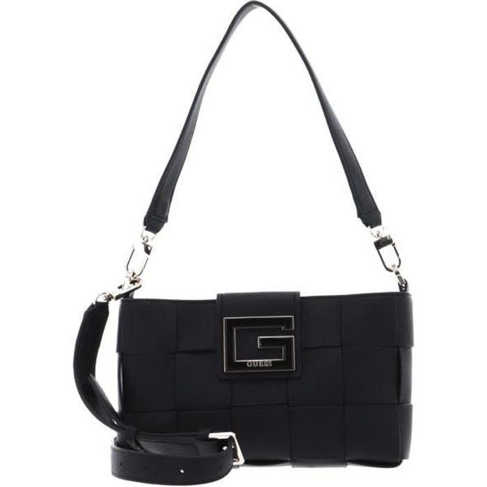 GUESS Liberty City Shoulder Bag Black [133305] - sac à main sac a main