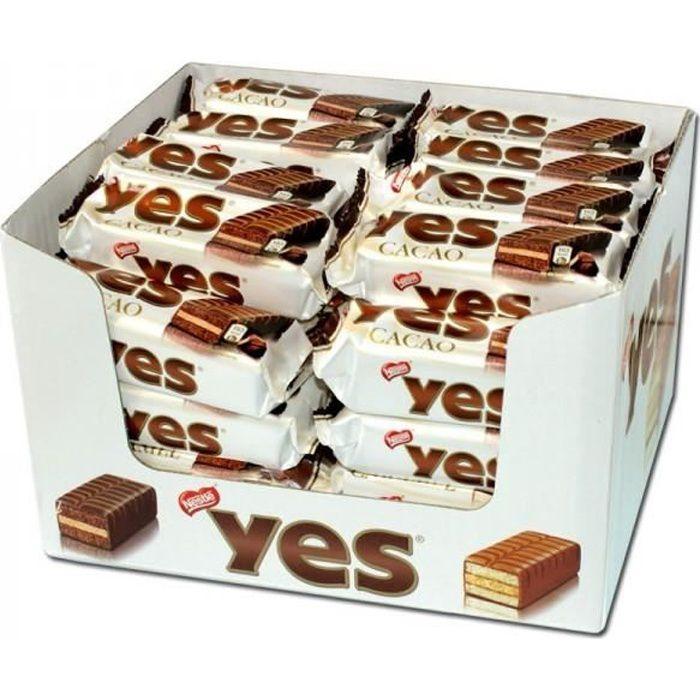 Nestlé YES cacao, Torty, gâteau, 48 pièces