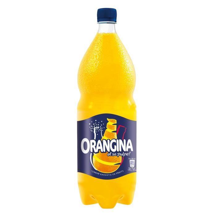 ORANGINA Boisson pétillante orange 2l