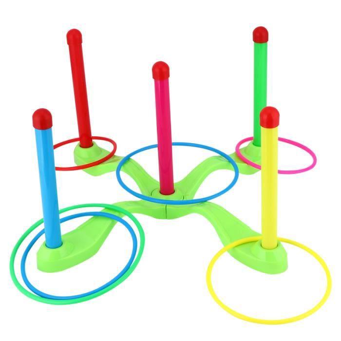 1 jeu de de lancer d'anneau jouet de sport de haute qualité de croix à cinq PACK PRODUITS DE FITNESS - PACK PRODUITS MUSCULATION