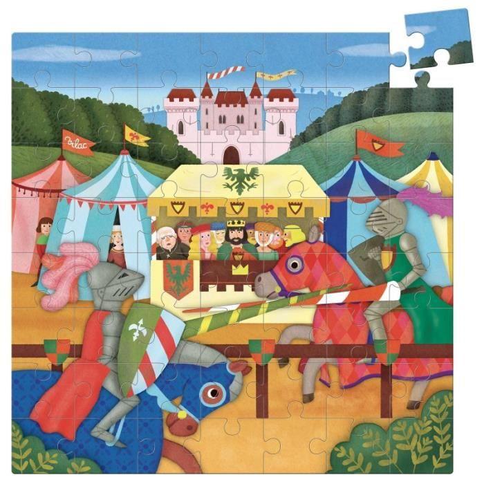 Puzzle Moyen-Âge 56 pcs - Vilac - taille:.